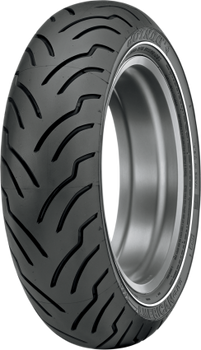 Dunlop American Elite MT90B16 Rear Tire Narrow White Stripe