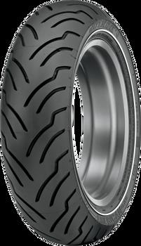 Dunlop American Elite 180/65B16 Rear Tire Narrow White Stripe