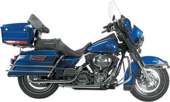 """Paughco 1-3/4"""" Drag Pipes For Late 1985-2009 Harley Touring Models"""
