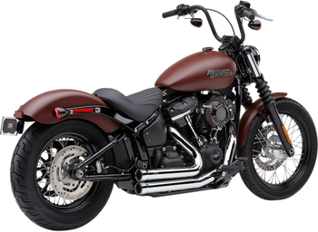 Cobra 909 2 into 2 Exhaust for 2018-Up Softail Heritage Classic and Sport Glide