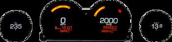 Dakota Digital MLX-8414 Four Gauge Kit for Harley Touring 2014-Up