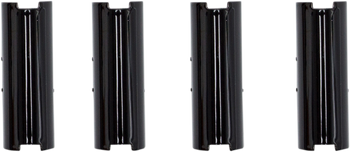S&S Gloss Black Pushrod Tube Keepers for Twin Cam 1999-2017