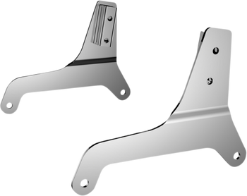 Drag Specialties Sissy Bar Side Plates for Harley Softail 2018-Up