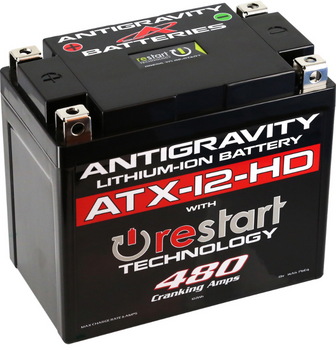 Antigravity Lithium-Ion ATX-12-HD Restart Battery for Harley Sportster