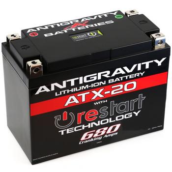 Antigravity Lithium-Ion ATX-20 Restart Battery Harley Softail, Dyna, Sportster