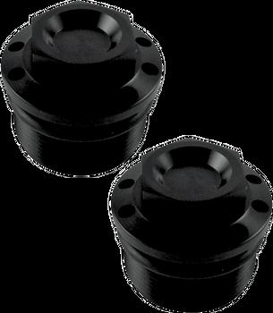 Joker Machine Fork Tube Caps for Harley FXR, Dyna, Sportster (see desc.)