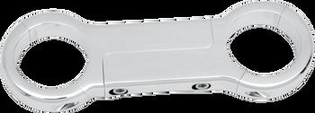 Drag Specialties Chrome Front Fork Brace for Dyna, FXR, Sportster
