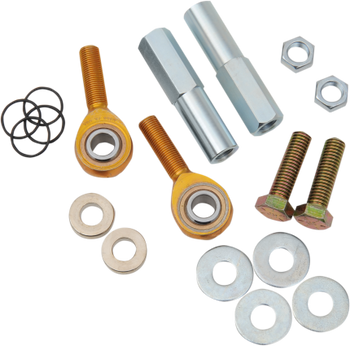 Burly Brand Adjustable Shock Lowering Kit for Harley Softail 1984-1988