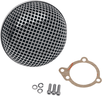 Drag Specialties Bob Retro Style Air Cleaner for Harley Big Twin 1999-2017