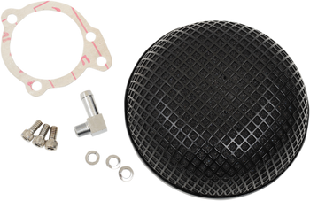 Drag Specialties Bob Retro Style Air Cleaner for S&S Super E/G Carb
