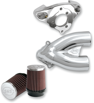 S&S Tuned Induction Air Cleaners for Stock CV or S&S Carb