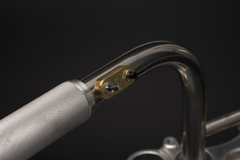 "Posh Factory Dual Mini 1"" Handlebar Switches Brass"