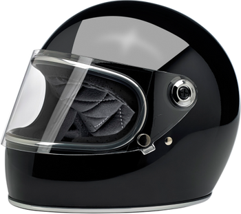 Biltwell Gringo S Full Face DOT & ECE Helmet - Gloss Black