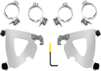 Memphis Shades Road Warrior Trigger-Lock Mount Kit for Dyna 1999-2005