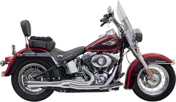 Bassani Road Rage II Mega Power 2:1 Exhaust fits Softail 2000-2017