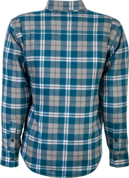 Highway 21 Marksman Riding Flannel - Blue