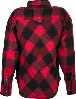 Highway 21 Women's Rogue Flannel - Red/Blk