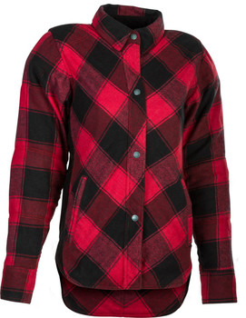 Highway 21 Women's Rogue Flannel - Red/Blk