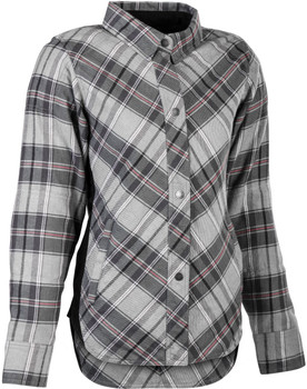 Highway 21 Women's Rogue Flannel - Pink/Grey