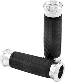 Performance Machine Harley Overdrive Dual Cable Grips (Choose Finish)