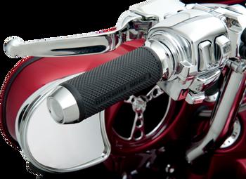 Performance Machine - Harley Davidson Elite TBW Grips - Chrome