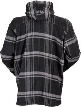 Z1R - The Timber Black/ Grey Flannel Shirt