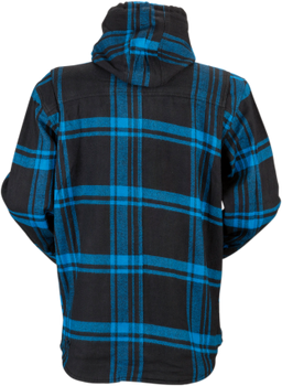 Z1R - The Timber Black/ Blue Flannel Shirt
