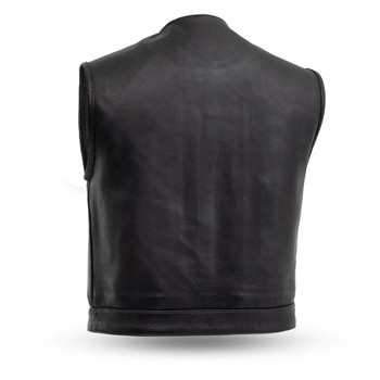 First Mfg Lowside Leather Vest