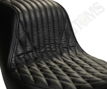 Deadbeat Customs Throne Harley Dyna Seat fits '06-'17 FXD