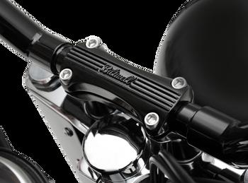 Biltwell Motorcycle Handlebar Thunder Risers - Black