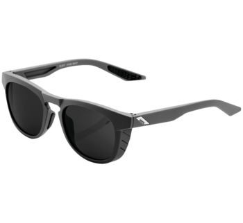 100% Slent Sunglasses Grey w/ Smoke Lens