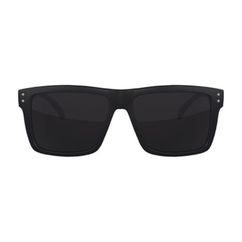 Flight Eyewear Benny Shades - Black Frames/ Smoke Lenses
