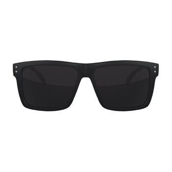 Flight Eyewear Benny Shades - Black Frames/ Smoke Lenses