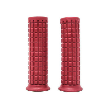 "Deadbeat Customs Tracker Grips 1"" Red"