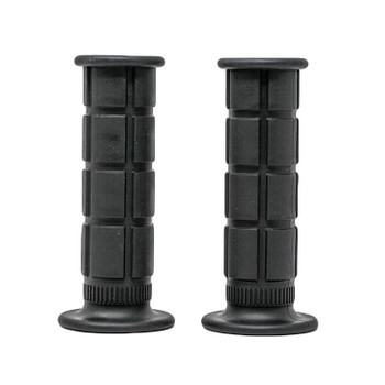 "Deadbeat Customs Moto Grips 1"" Black"