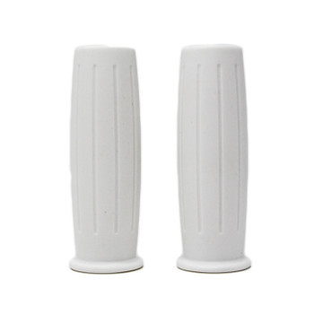 "Deadbeat Customs Chopper Grips 1"" White"