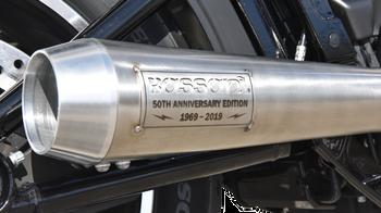 Bassani Exhaust 50th Anniversary Road Rage III Exhaust System - fits '18-19 FXBB, FXLR, FXFB, FLSL