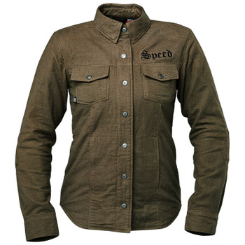 Speed and Strength Women's Brat Armored Flannel