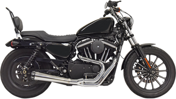Bassani Road Rage 2-into-1 Exhaust System - fits '86-'03 XL