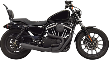 Bassani Road Rage 2-into-1 Exhaust System - fits '04-'19 XL