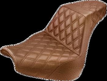 Saddlemen - Step Up Full Diamond Stitched Seat - fits '18-'19 FXBR/FXBRS