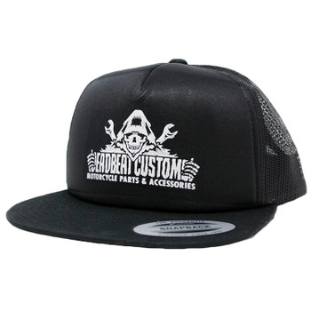 Deadbeat Customs Reaper Foam Snapback Hat - Black