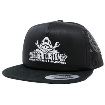 Deadbeat Customs Reaper Foam Snapback Hat - Black