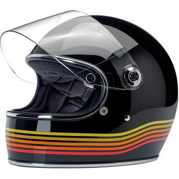 Biltwell Gringo S Helmet - Gloss Black Spectrum