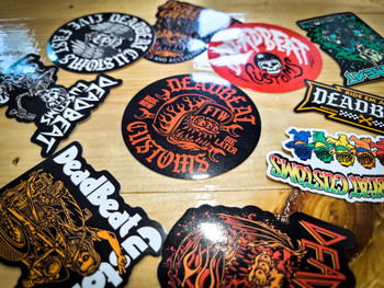 Deadbeat Customs Sticker Pack (10 Stickers)