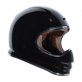 Torc Helmets T3 Moto Classic Helmet - Gloss Black