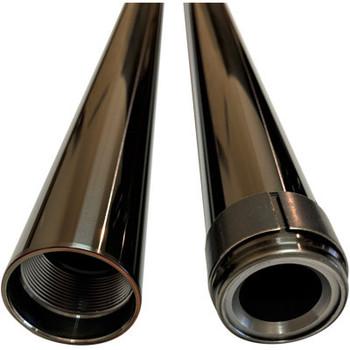 "Pro-One 39MM Black Harley Fork Tube Assembly - Standard 24.25"""