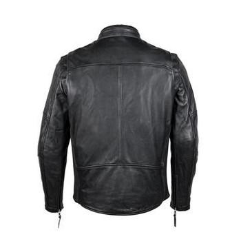Cortech The Idol Leather Riding Jacket - Black