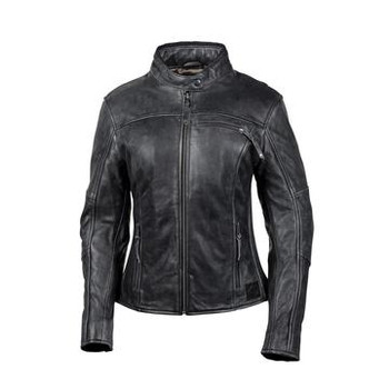 Cortech The Lolo Leather Riding Jacket - Black
