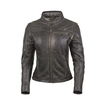 Cortech The Lolo Leather Riding Jacket - Brown